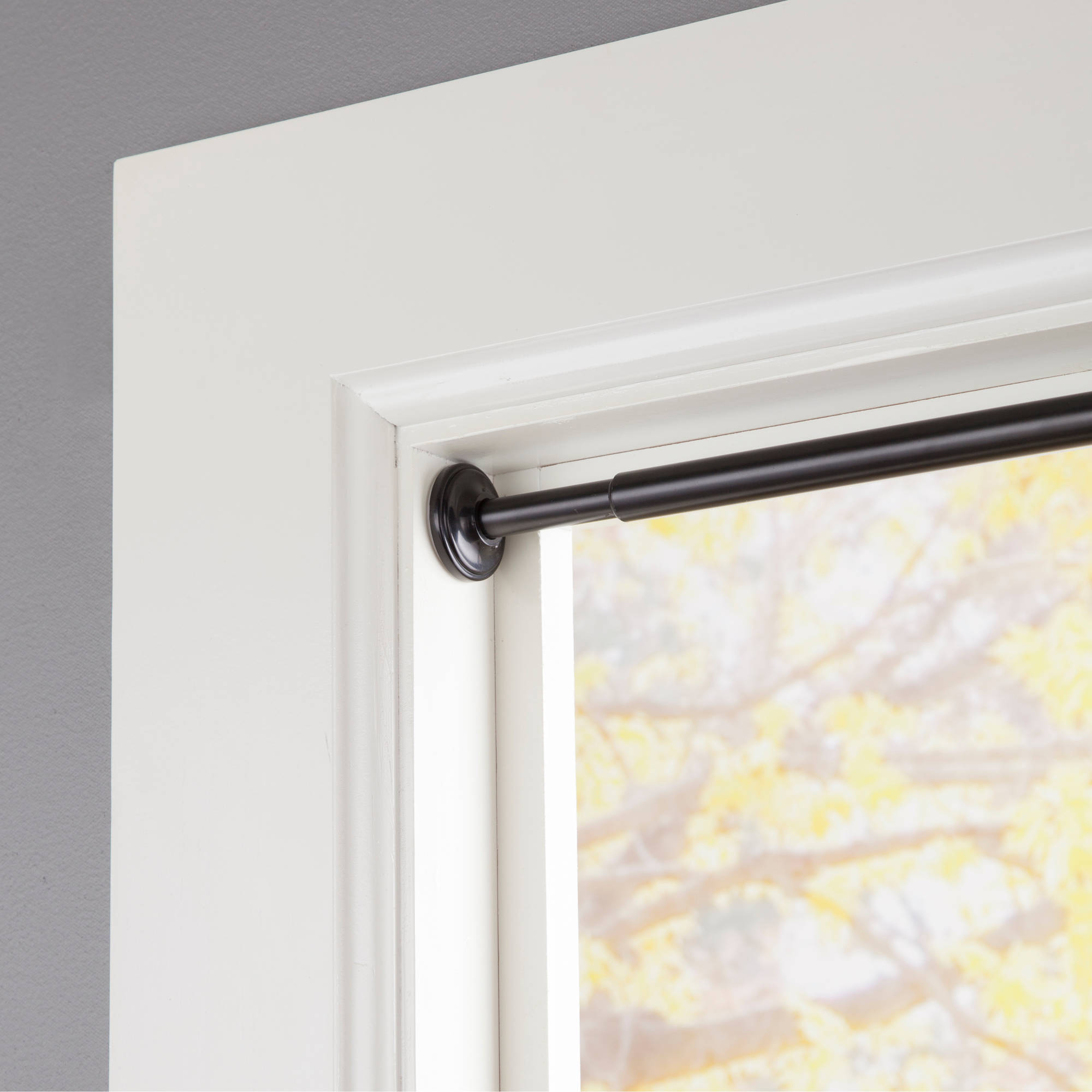 "eclipse 5/8"" Diameter Room Darkening Tension Curtain Rod"