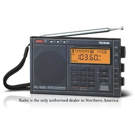 Tecsun PL-600 AM/FM/LW Shortwave Radio with SSB