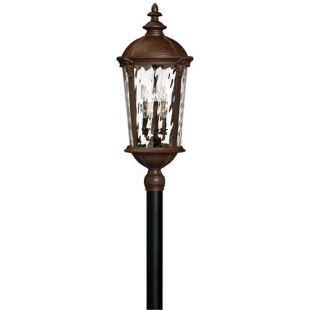 Hinkley Lighting 1921 Led 2 Light Led Post Light From The Windsor Collection