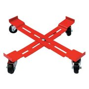 6FVJ4 Adjustable Drum Dolly, 1000 lb, 5-3 8 In H by Drum Dollies