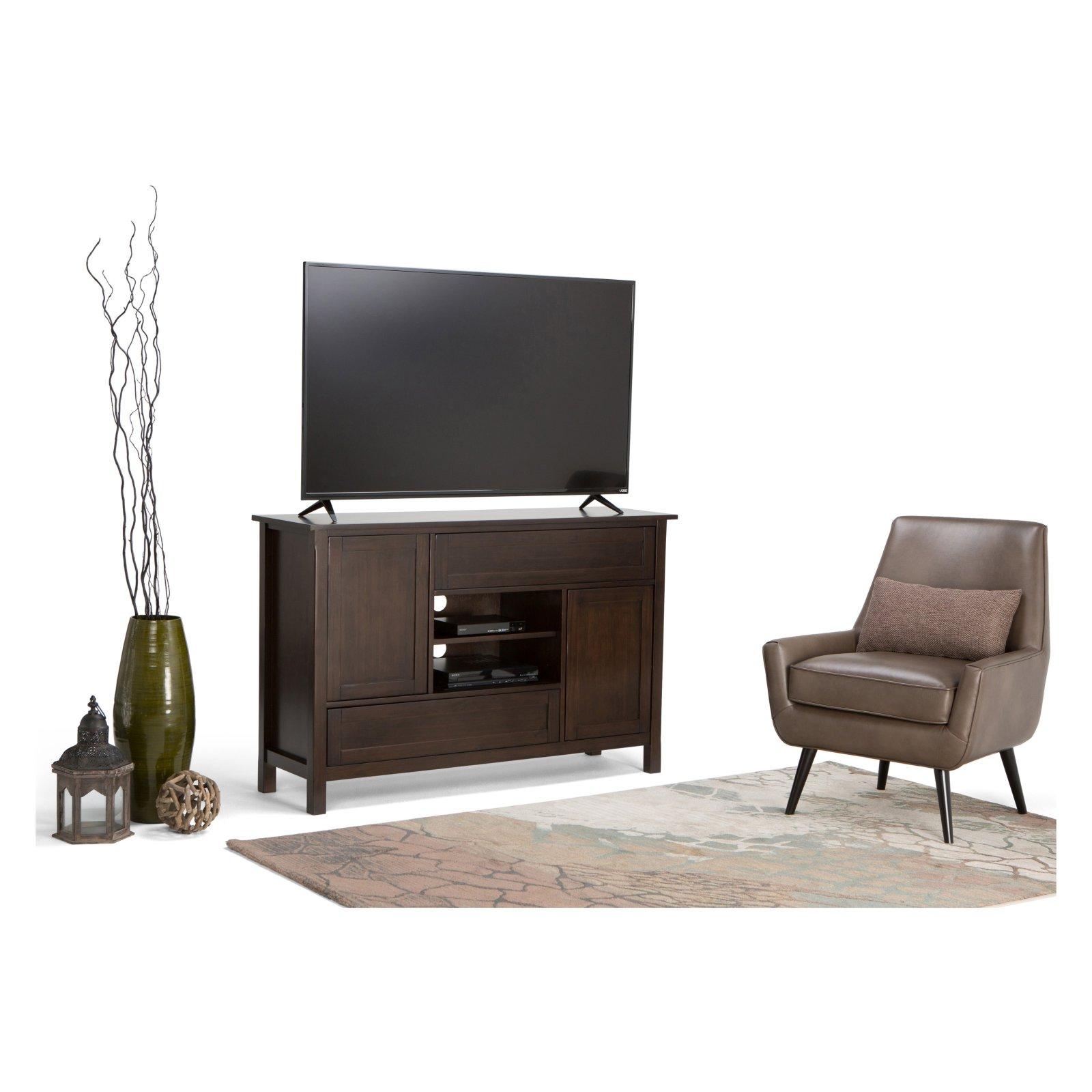 "Simpli Home Sidney 54"" Tall TV Stand"