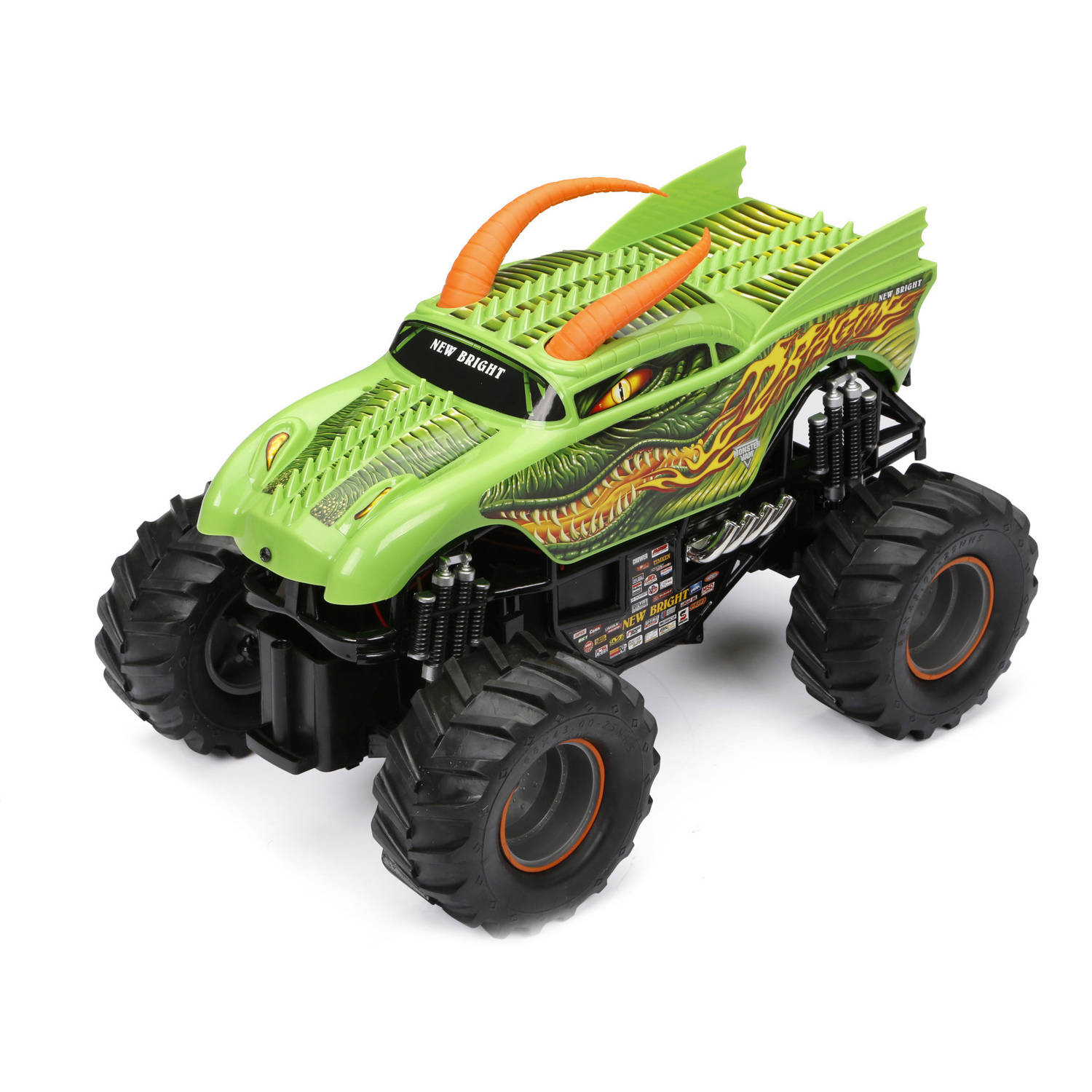 New Bright 1:24 R/C Monster Jam - Dragon