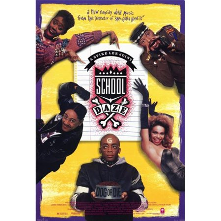 Pop Culture Graphics MOVCF7394 School Daze Movie Poster Print, 27 x 40 - image 1 of 1