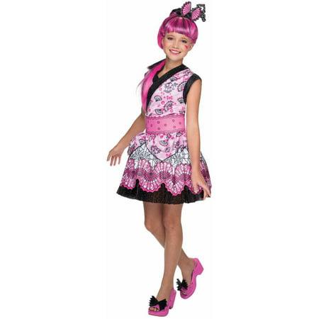 Monster High Draculaura Monster Exchange Child Halloween Costume - Monster High Halloween Costumes Target