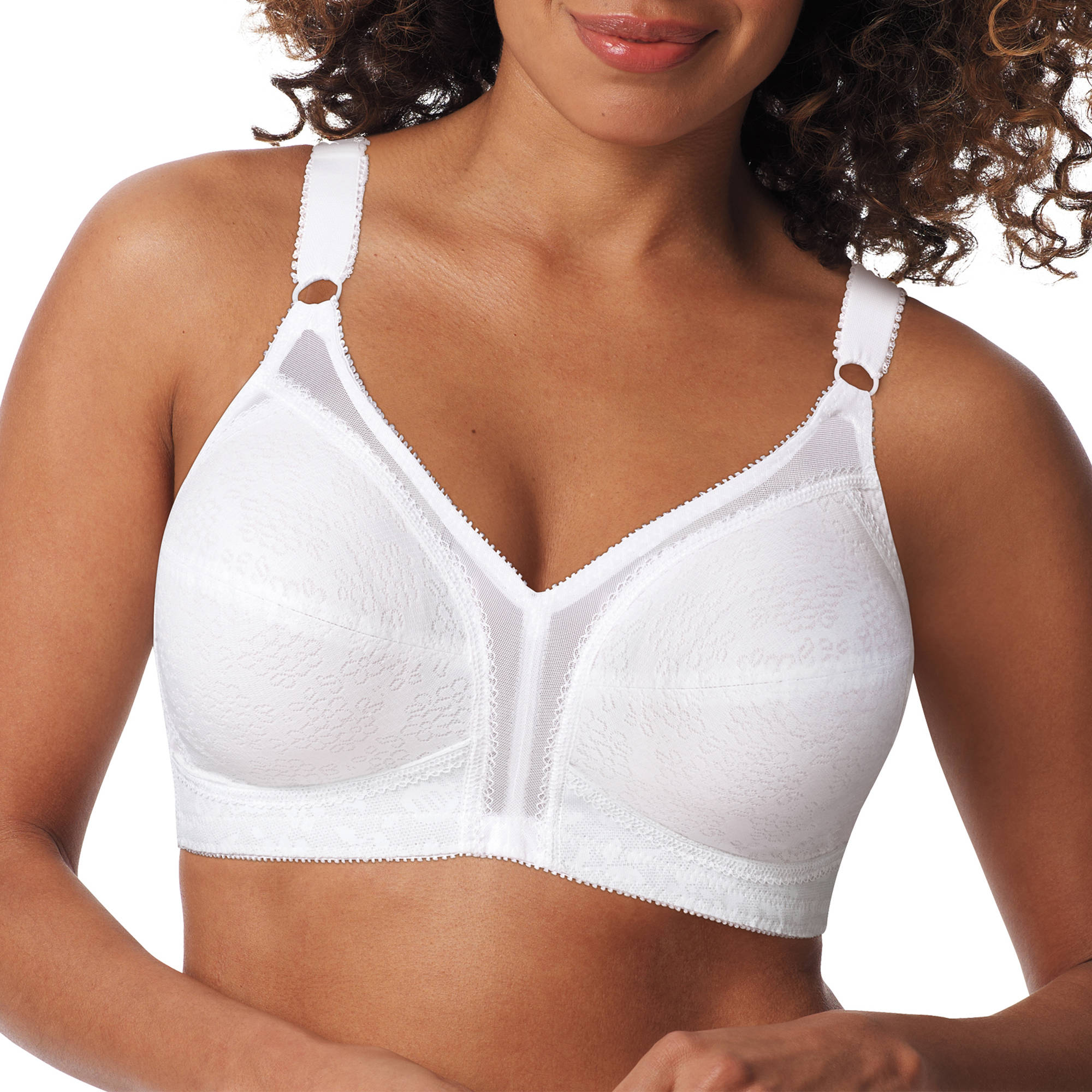 Playtex 18 Hour Full Figure Lace Wirefree Bra, Style 20-27