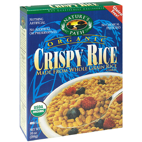 Nature's Path Organic Whole Grain Brown Rice Cereal, 10 oz  (Pack of 6)