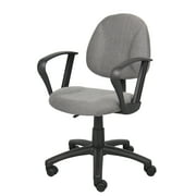 Boss Office & Home Beyond Basics Adjustable Office Task Chair with Loop Arms, Multiple Colors