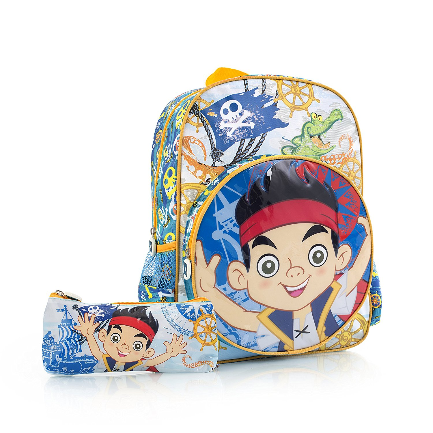 Heys Disney Jake & The Never Land Pirates Kids Backpack with Pencil Case 15""