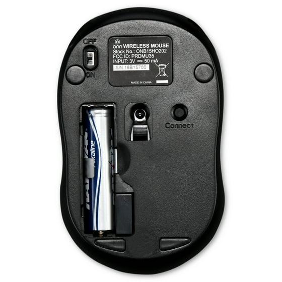Onn 24ghz Wireless Mouse With Nano Usb Receiver Walmart
