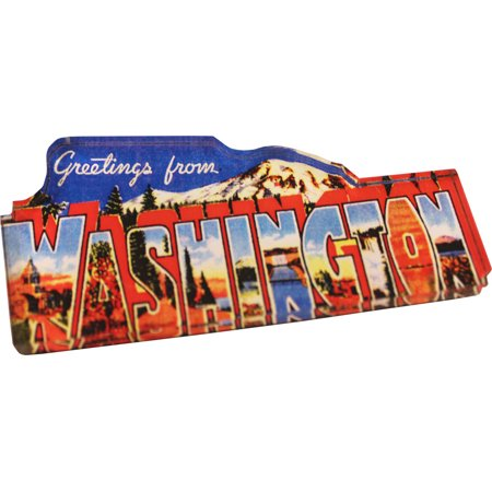 - Washington Acrylic Postcard Magnet