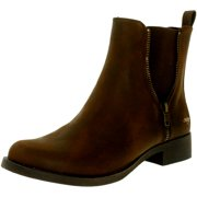 Women's Camilla Gr Brown Ankle-High Leather Boot - 10M