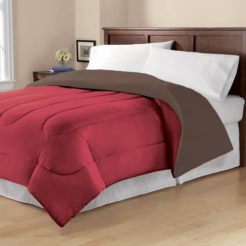 Mainstays Solid Reversible Bedding Comforter by MAINSTAYS