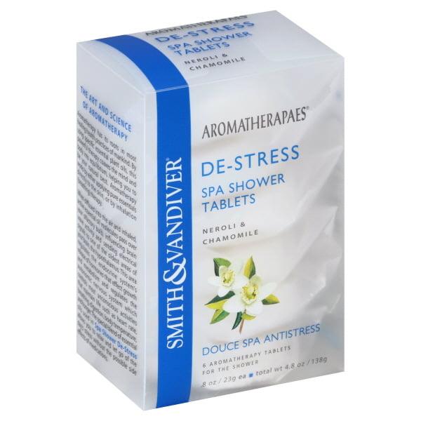 Smith & Vandiver Aromatherapaes  Spa Shower Tablets, 6 ea