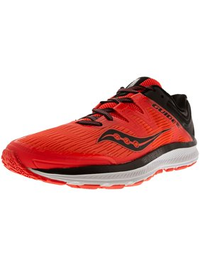 fe90b00a5f42 Product Image Saucony Women s Guide Iso Vizi Red   Black Ankle-High Mesh  Running Shoe - 7M