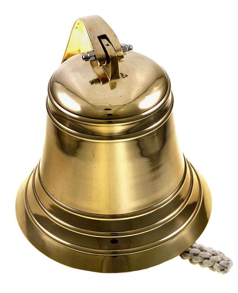 Desconocido R A Handicrafts 8 Inches Brass Maritime Ship Bell