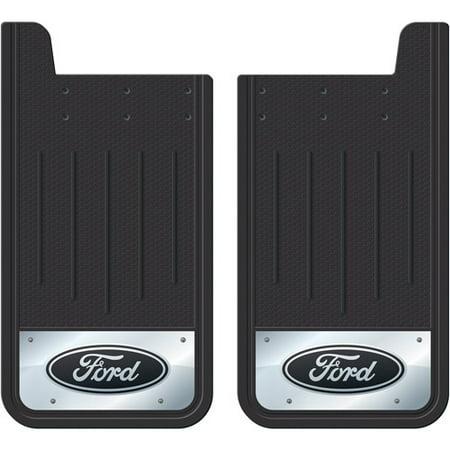 Plasticolor Heavy-Duty Rear Mud Guards, Ford