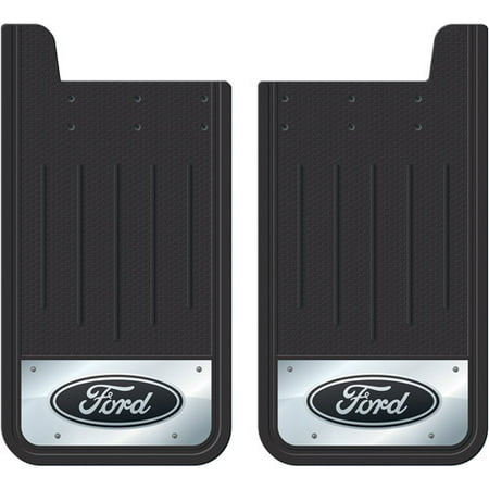 - Plasticolor Heavy-Duty Rear Mud Guards, Ford