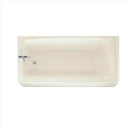 Swan BT-3060L-018 60 inch Left-Hand Drain Bathtub in Bisque