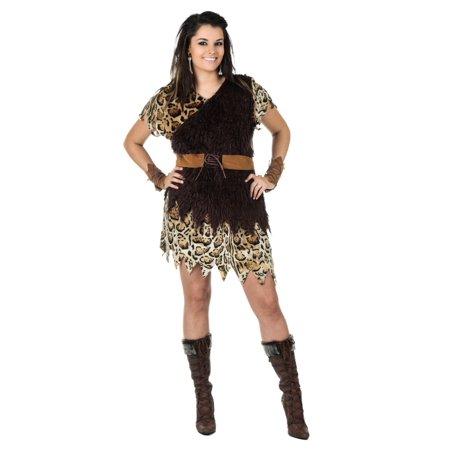 Halloween Cavewoman (Plus Size Cavewoman Costume)