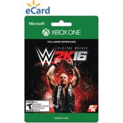 Wwe 2k16 Deluxe (xbox One) (email Delive