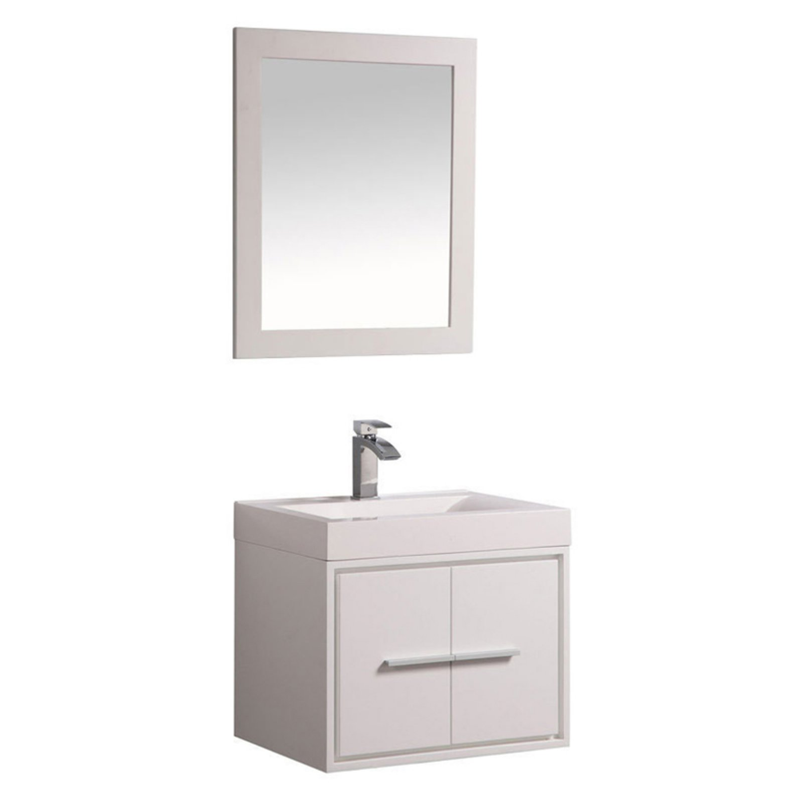 MTD Vanities Cypress 24 in. Single Sink Wall Mounted Bath...