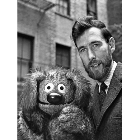 Muppets in Formal Outfit Black and White Print Wall Art By Movie Star News
