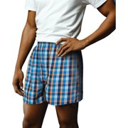 Mens Woven Boxers, 4 pack