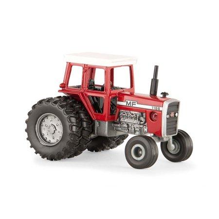 Massey Ferguson Backhoe - Massey Ferguson MF1155 Tractor (1/64 Scale), High Quality By ERTL Toys
