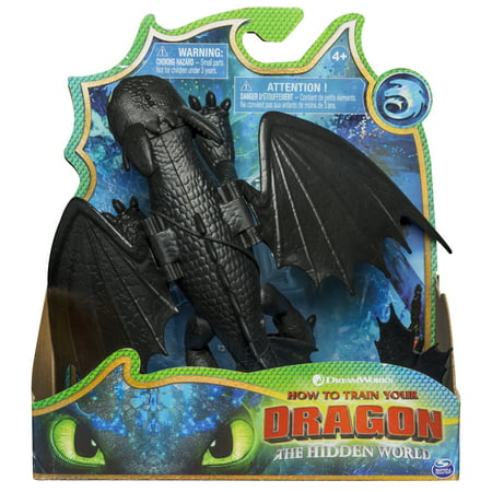 DreamWorks Dragons, Toothless Dragon Figure with Moving Parts, for Kids Aged 4 and Up](Toothless Suit)