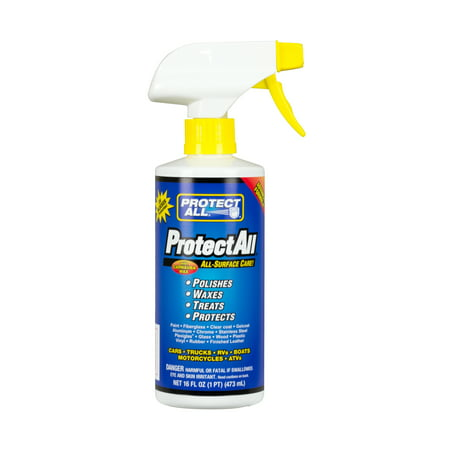 All-Surface Care - Cleaner / Wax / Polisher / Protector - Interior and exterior use - 16 oz - Protect All