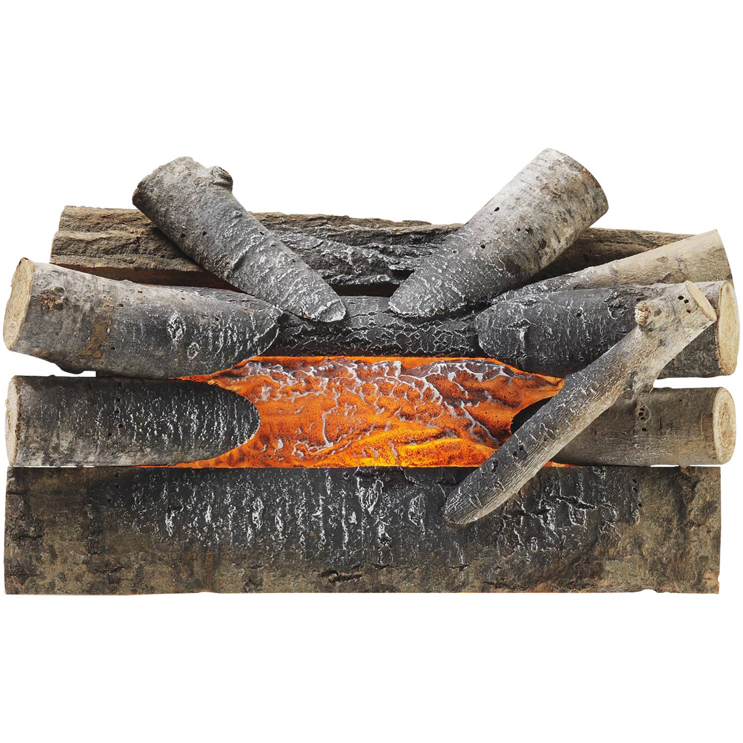 Pleasant Hearth L-20W Electric Crackling Log