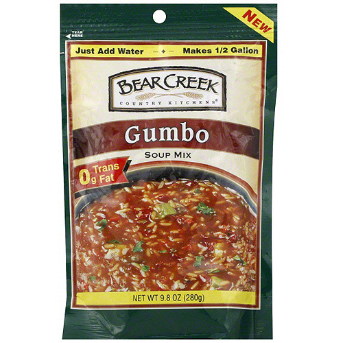 Bear Creek Gumbo Soup Mix, 9.8 oz (Pack of 6) by Generic