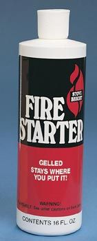 Stove Bright Gelled Fire Starter 16 oz. by