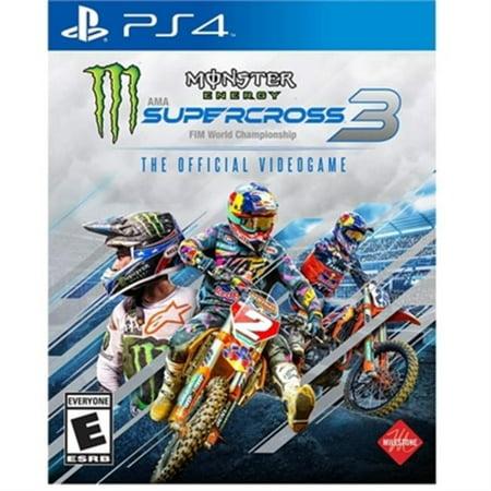 Square Enix 92368 Monster Energy Supercross3 PlayStation 4 Game - image 1 de 1
