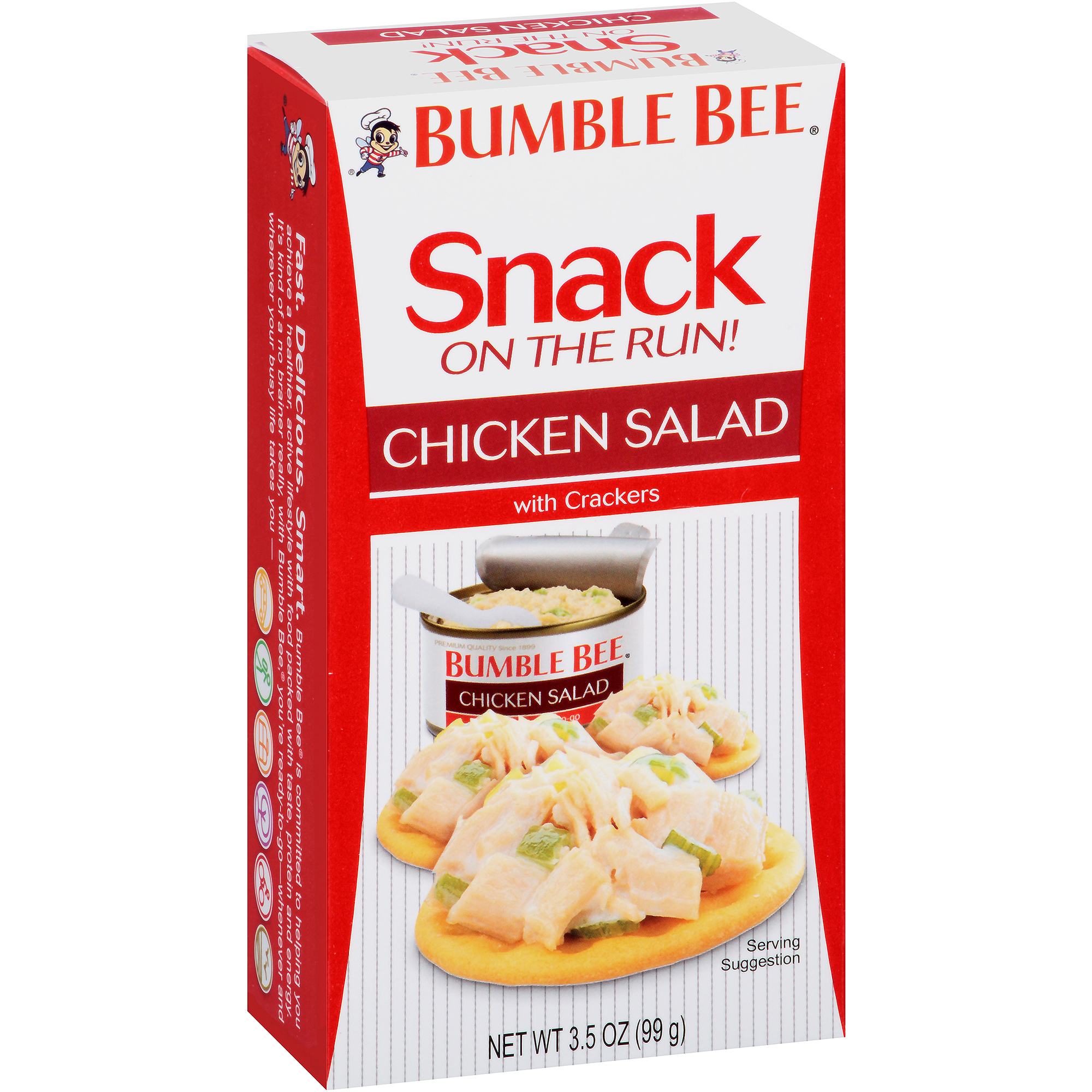 Bumble Bee On-The-Go Meal Solution w/Crackers, Chicken Salad, 3.5 oz