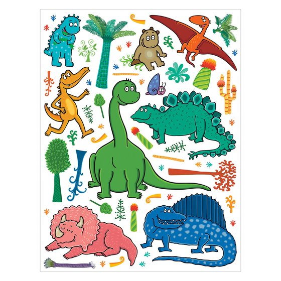 Dinosaur kit for Dinosaur mural kit