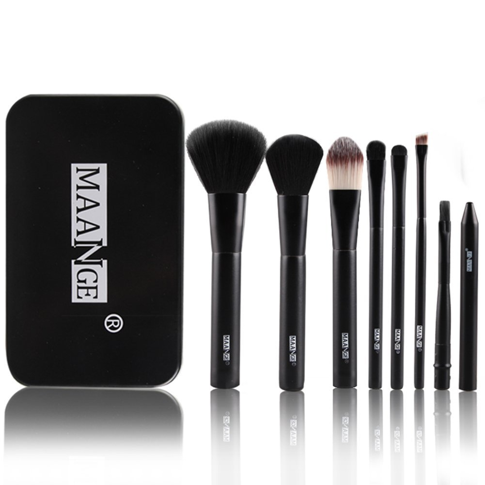 Pretty Women Makeup Brush Kit Contains 7 Pcs Cosmetic Pow...