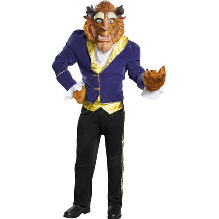 Ultra Prestige Beast Men's Adult Halloween Costume - Belle Beauty Beast Halloween Costume Adults