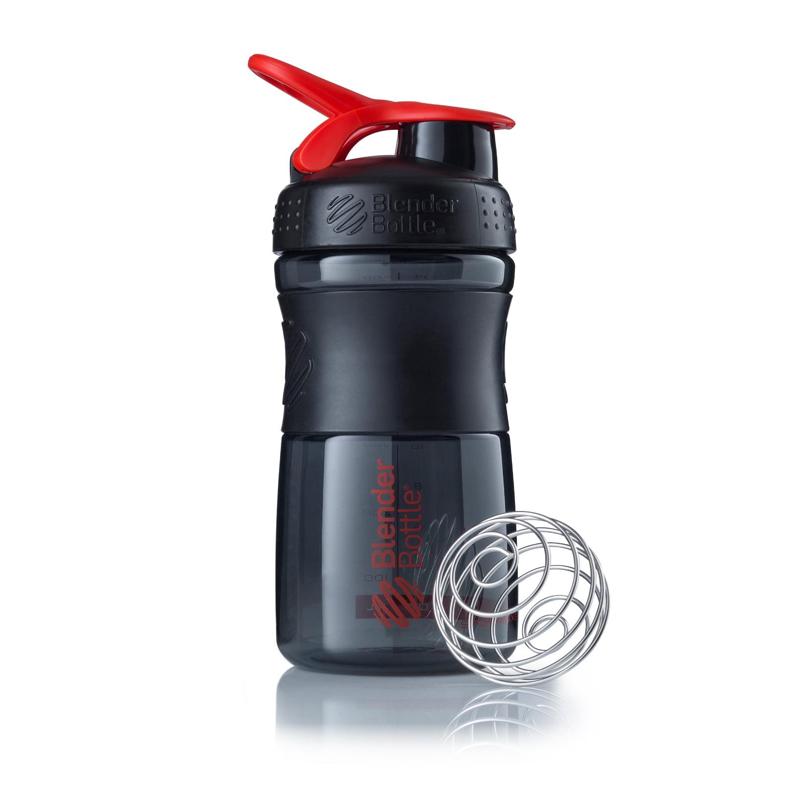 BlenderBottle SportMixer Tritan Grip 20oz. - Black/Red