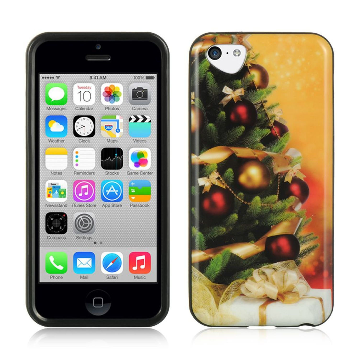 DreamWireless Christmas TPU Rubber Candy Skin Case Cover ...