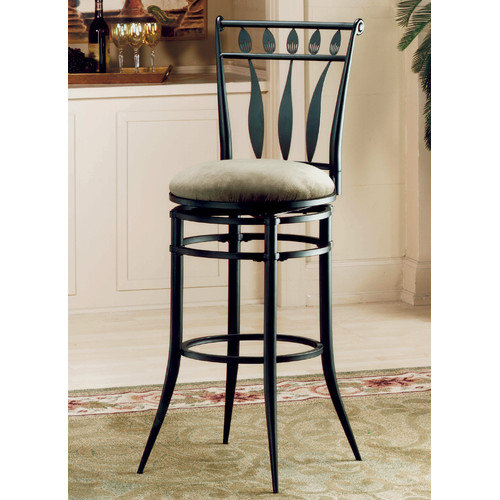 Hillsdale Furniture Hudson 30'' Swivel Bar Stool with Cushion