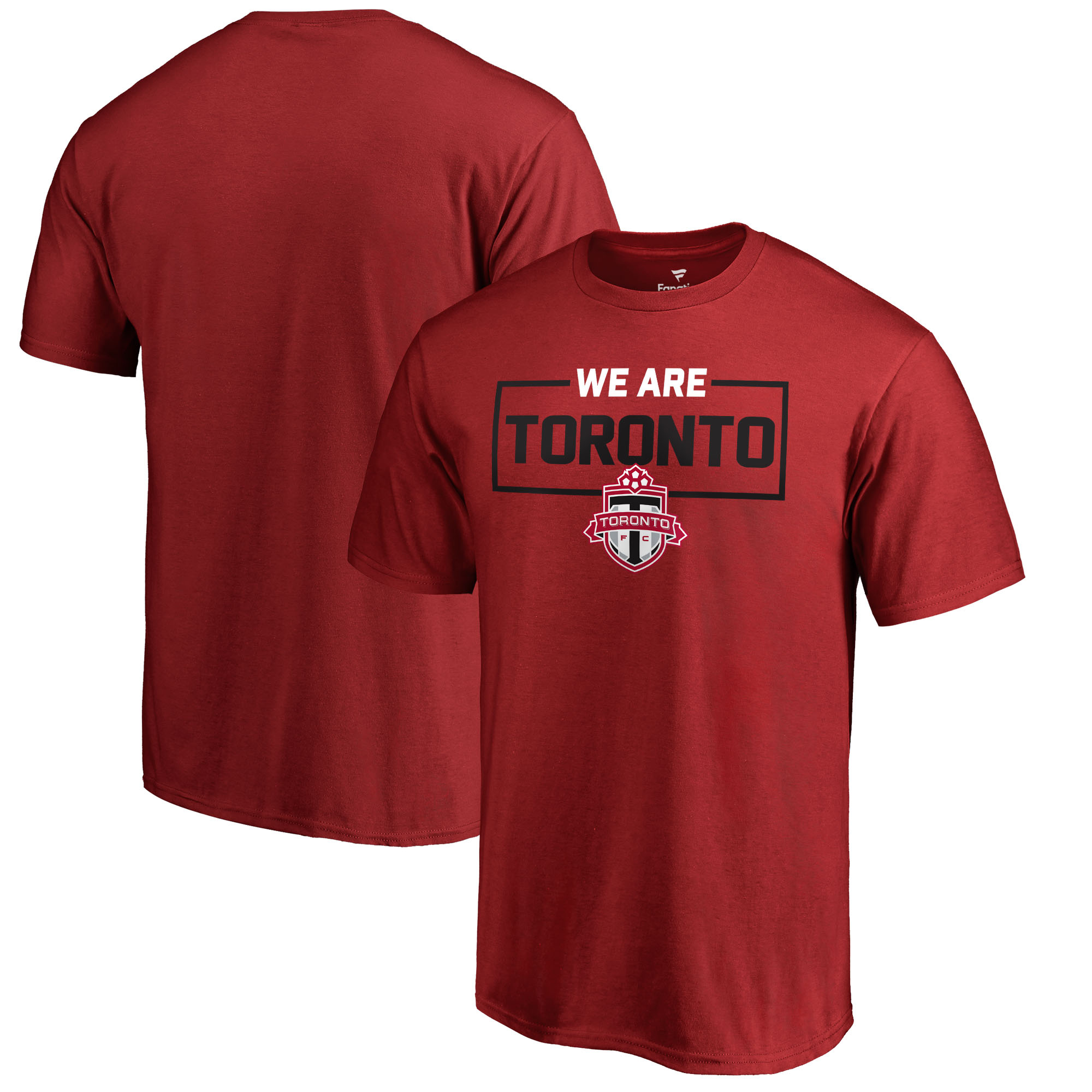 Toronto FC Fanatics Branded We Are T-Shirt - Red