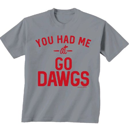 NCAA Georgia Bulldogs You Had Me At Go Dawgs Comfort Color T-shirt-medium