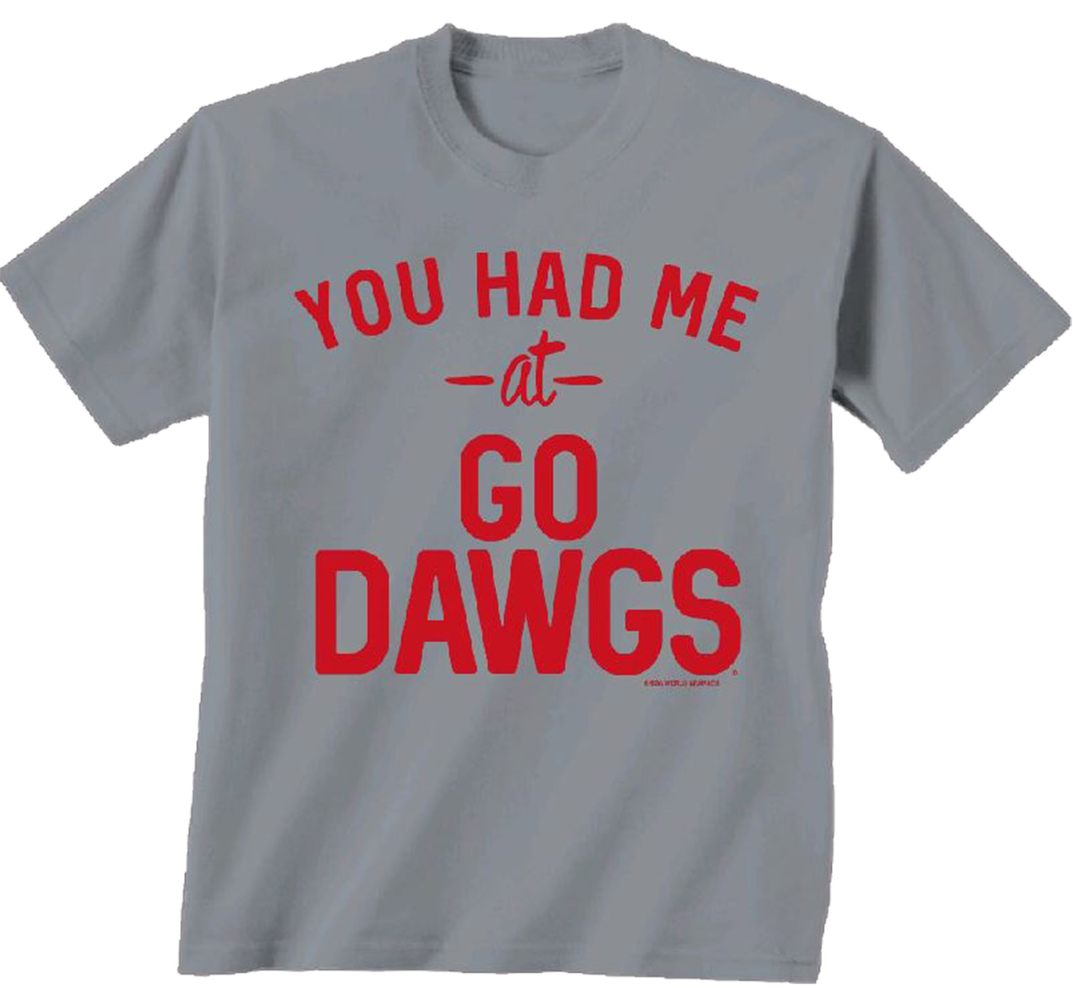 NCAA Georgia Bulldogs You Had Me At Go Dawgs Comfort Color T-shirt-small