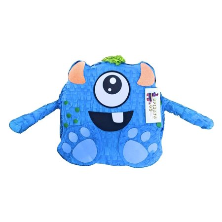 APINATA4U Blue Monster Pinata Monster Party Favor Cute Little Monster