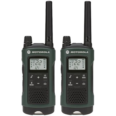 Motorola T465 Rechargeable 2-Way Radio, Green ()