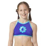 Women's Speedo 7723176 Plunge Zip Front Ombre One Piece Swimsuit