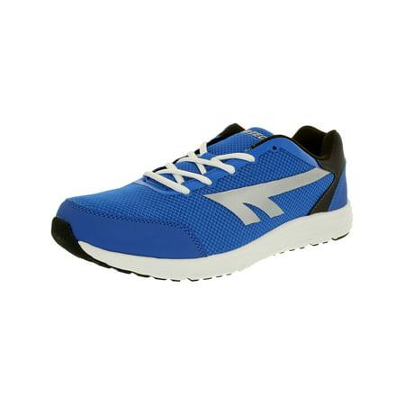 Hi-Tec Men's Pajo Royal/Dark Grey/Silver Ankle-High Running Shoe -