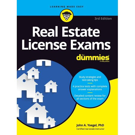 Real Estate License Exams for Dummies (Best Real Estate License Course California)