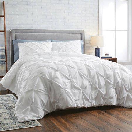 King Pintuck Comforter Set, 3 Piece by Better Homes & Gardens